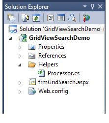 asp.net gridviewsearch