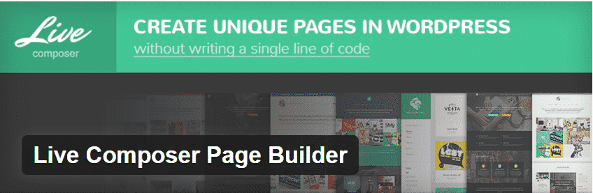 Live Composer page Builder