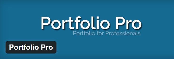 Portfolio Pro plugin