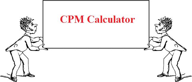 cpm calculator