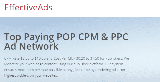 highest paying ppc ad network