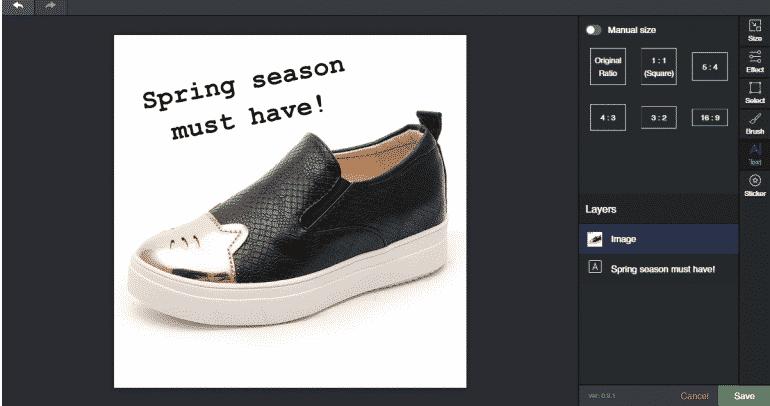 Image Editor Tool