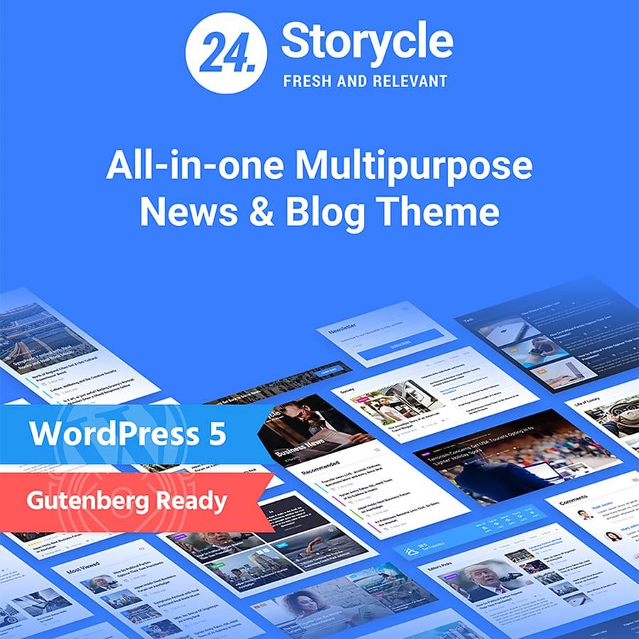 storycle wordpress theme