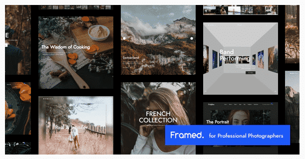 Framed Photography theme