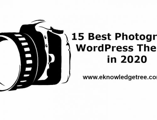 15 Best Photography WordPress Themes in 2020