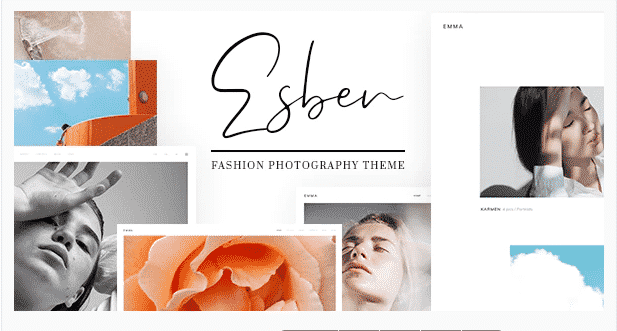 esben photography wordpress theme