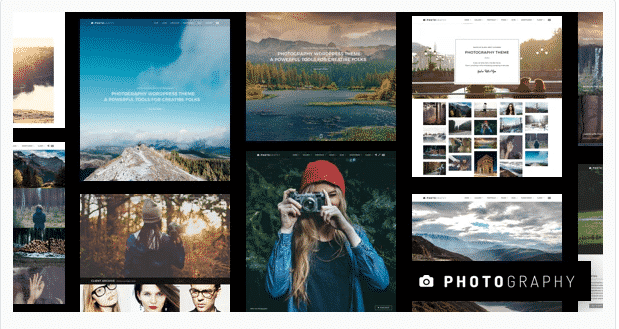 Photography wordpress theme 2020