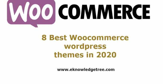woocommerce wordpress themes in 2020